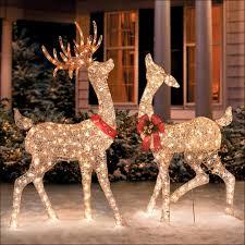 outdoor decor lovely large outdoor reindeer