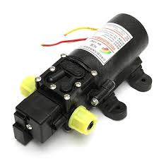 50 psi water pump 12v high power electric auto diaphragm water pump 5l min 100 psi