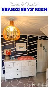 11 best camping mural ideas images on pinterest mural ideas an awesome shared boys bedroom makeover from view from the fridge i m crazy about that statement wall
