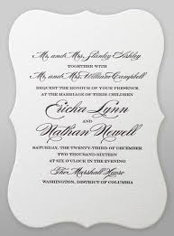 bridal invitation wording say it with style wording wedding invitations