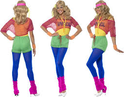 80s party costumes physical 80s ladies fancy dress olivia