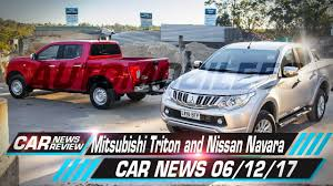 mitsubishi nissan mitsubishi triton and nissan navara co development plans already