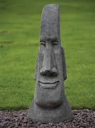 grand sculpture easter island statue s s shop