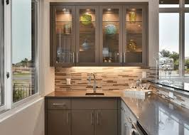 Decorative Cabinet Glass Panels by Kitchen Cabinets With Frosted Glass Inserts Monsterlune