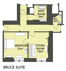in suite plans cromlix house hotel floor plans