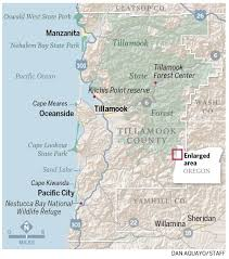 Oregon Beaches Map by 10 Best Outdoor Adventures In Tillamook County Wild About Oregon