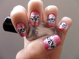 Nail Designs Cheetah Cheetah And Zebra Print Nail Designs 2015 Best Nails Design Ideas