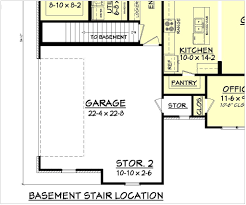 garage floor plans modern house plans with garage underneath arts