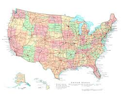 Map Georgia Usa by Maps Of The Usa Detailed Map Of The Usa The United States Of