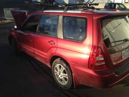 red subaru forester 2015 2005 subaru forester xt automatic complete part out the subie