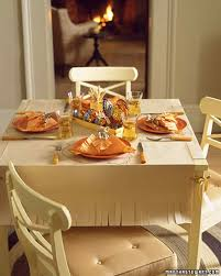 Thanksgiving Table Setting by Setting A Thanksgiving Table Martha Stewart