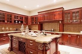 Luxury Traditional Kitchens - kitchen traditional kitchen theme with cherry dark brown luxury