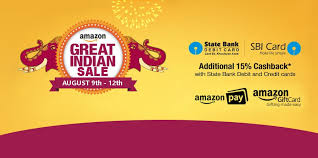 great indian festival sale 2017 sbi card offers dates