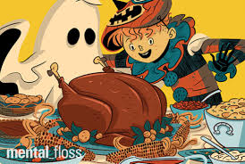 real thanksgiving history a look back at when thanksgiving was basically halloween mental