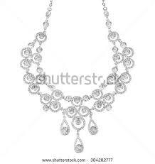 Diamond Chandelier Necklace Chandelier Necklace Stock Vector 34343179 Shutterstock