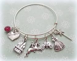 goddaughter charm bracelet princess charm bracelet goddaughter charm bracelet gift for