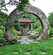 a moon gate for your garden u2022 insteading