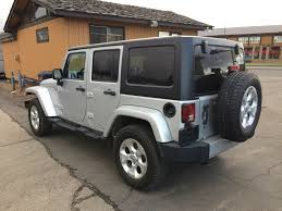 jeep silver used 2012 jeep wrangler unlimited 4 door sport utility in