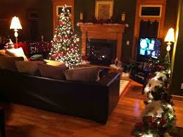 living room contemporary christmas decorating ideas collection