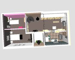 am駭ager une chambre de 10m2 vivre dans une grange plans 3d