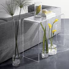 Acrylic Accent Table Cb2 Acrylic Coffee Table Acrylic Console Table Top Quality Acrylic