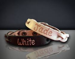 his and hers engraved bracelets personalized leather bracelet etsy