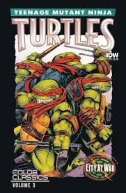 review teenage mutant ninja turtles colour classics v3 12