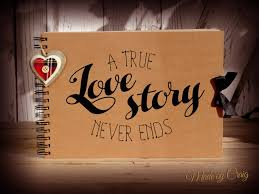 photo albums for couples a true story never ends scrapbook photo album couples gift