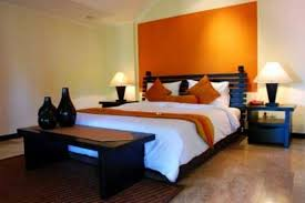 Modren Bedroom Ideas Orange Colorful Bedrooms That Will Make You - Bedroom orange paint ideas