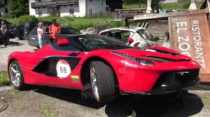 ferrari laferrari this video of a crashed ferrari laferrari will make you cringe