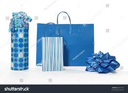 blue gift bags decorative gift bags