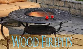 Wood Firepits Gas Firepit Tables Patiosusa Patiosusa