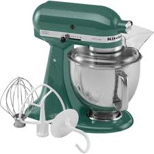 Home Kitchen Aid by Kitchenaid Ksm150psbl Artisan Series Bay Leaf 5 Qt Stand Mixer