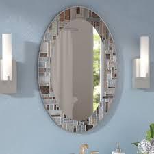 Oval Mirrors For Bathroom Oval Mirrors You Ll Wayfair