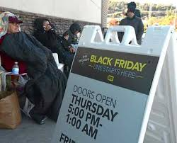 marin black friday shoppers wait 24 hours in cold for bargains