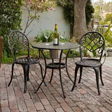patio bistro table and chairs bistro patio table and chairs creative of outdoor cafe table set
