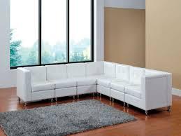 Modern Modular Sectional Sofa by Amazon Com Modern Line Furniture 9049w G7 Modular Leather L Shape