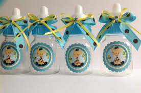baby shower bottle favors 12 small 3 5 baby giraffe bottles baby shower favors
