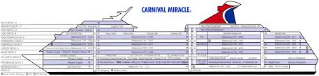 Cruise Ship Floor Plans Jim Zim U0027s Carnival Miracle Cruise Ship Review