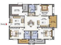 home design 3d more bedroom 3d floor plans architecture design three home idolza