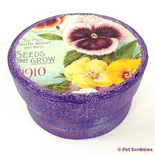 vintage seed packets diy gifts for gardeners vintage seed packet paper maché boxes