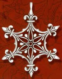 hammer renaissance ornament sterling silver