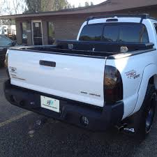 Tacoma Bed Width Hammerhead Toyota Tacoma 2005 2015 Full Width Black Rear Hd