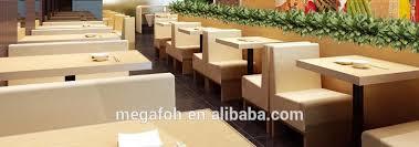 Modern Restaurant Furniture by Modern Light Grey Lobby Sofa Seating Restaurant Booth Foh Cbck32
