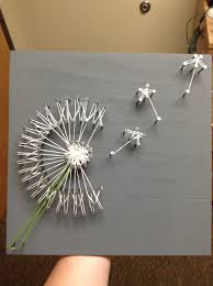 dandelion string art there are many artists to use as examples