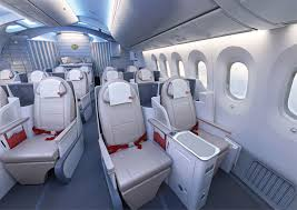 boeing 787 dreamliner seating image gallery hcpr that means a standard 2 2 2 layout which sees the left