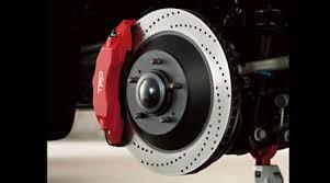 toyota tundra trd accessories trd high performance front big brake kit toyota fj cruiser