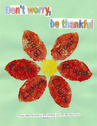 don t worry be thankful craft idea crafts