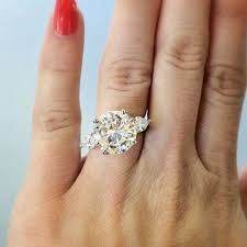 5 carat engagement ring exquisite wedding rings diamond engagement ring 5 carat