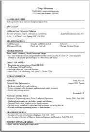Sample Resumes For Mechanical Engineers by Resume Format For Computer Science Engineering Students U2013 Best